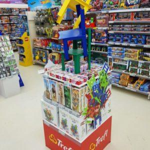 , Торговая стойка для игрушек